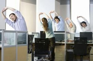 olahraga di kantor