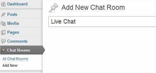 Chat room gratis