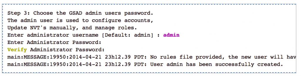 konfigurasi admin