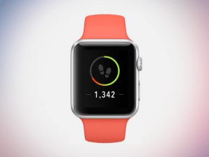 health app steps countdown apple watch