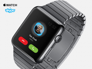skype apple watch