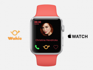 wakie apple watch