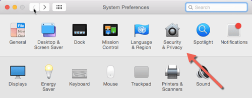 security privacy mac os x