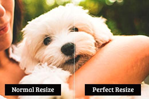 perbandingan resize gambar
