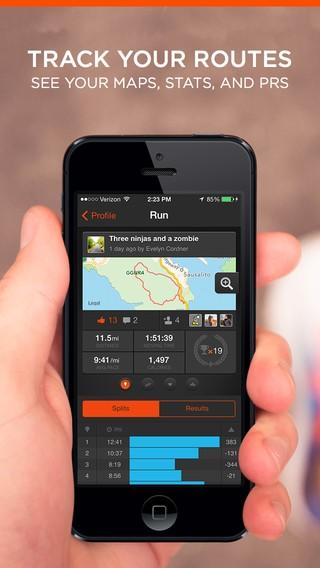 aplikasi Strava Run and Cycling