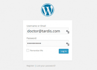 login dengan email