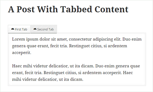 menambah tab konten di wordpress