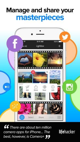 aplikasi camera+ ios