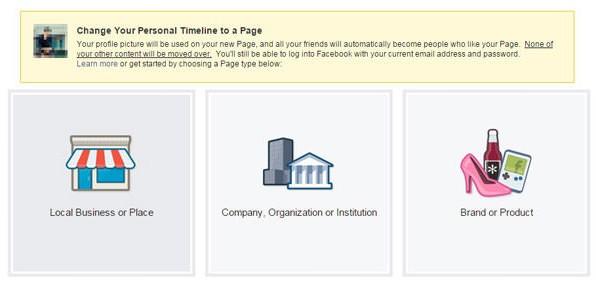 ubah profil facebook