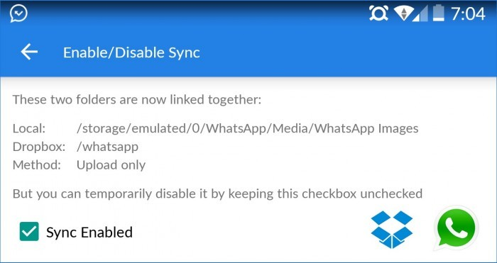 whatsapp dropbox
