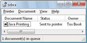 nama dokumen java printing