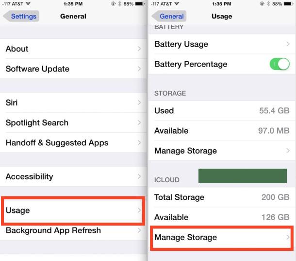 akses icloud backup dari iphone