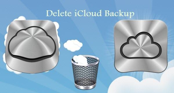 hapus backup icloud